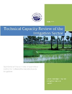 Technical Capacity Review of The Irrigation Sector